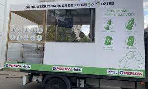 У Латвії розроблений робот для прийому депозитної тари
